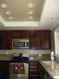 Fluorescent Light Kitchen Recessed Ceiling Paint The Ceiling To Match The Wall Paint Color