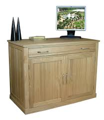 Home Office Desk Oak by Mobel Oak Hidden Office Desk Study Furniture