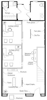 Office Floor Plan Sles | nicole cbell sales office and model design