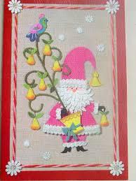 122 best mod santa christmas cards images on pinterest santa