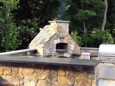 Outdoor Kitchen Pizza Oven Design Patio With Outdoor Kitchen Pizza Oven And Bar Weston Ct