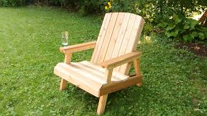 Building A Lawn Chair Old Edit YouTube - Wood patio furniture