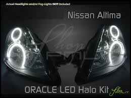 nissan altima white 2010 07 09 nissan altima 4dr ccfl halo rings headlights bulbs