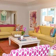 Pink Living Room Ideas Yellow And Pink Living Room Rug Design Ideas