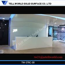 White Gloss Reception Desk White Gloss Reception Modern Front Desk Design Reception Desk
