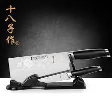 top kitchen knives set shop shi ba zi zuo s1212 ab d top kitchen knives set with