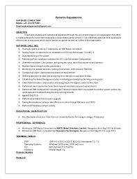 Sap Basis Administrator Resume Sample sap basis resume
