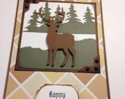deer birthday card etsy
