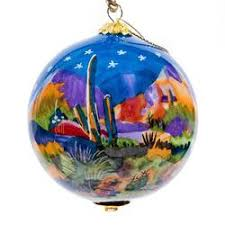 painted glass ornaments 3 inch