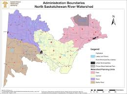 Blank Map Of Saskatchewan by Watershed Information Caring For Our Watersheds