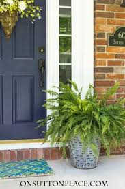 Front Porch Planter Ideas by Easy Spring Porch Refresh Outdoor Spaces Porch And Spaces