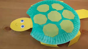head bobbing turtle paper plate craft youtube
