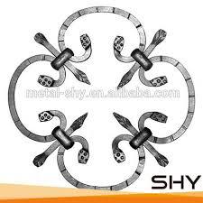decorative iron rosette scrolls source quality decorative iron