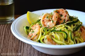 Dinner Ideas With Shrimp And Pasta Shrimp Scampi With Zucchini Noodles Recipe