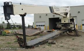national crane 900a truck mounted crane item dd9376 sold
