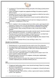 Project Accountant Resume Sample by Over 10000 Cv And Resume Samples With Free Download Excellent