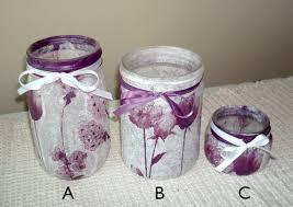 Floral Desk Accessories Purple Floral Desk Accessories Glass Jar Pencil Holder Makeup
