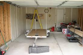 overhead ceiling garage storage ideas