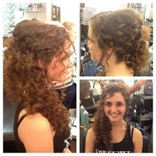 photo prom hairstyles for naturally curly hair 2015 round face