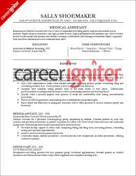 medical assistant resume sample career igniter