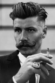 beer and haircuts from the 1920s men s undercut hairstyle below the round of the head man style