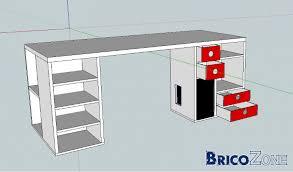 construire bureau fabrication d un bureau en mdf