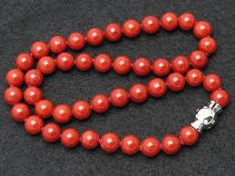 coral beads necklace images Gorgeous natural mediterranean coral bead necklace at 1stdibs JPG