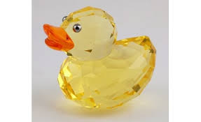 swarovski yellow duck ornament buy collectables buy