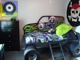 grave digger radio control monster truck monster truck grave digger bed from gabriel u0027s special spaces