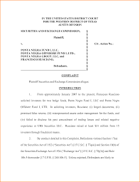 Sample Partnership Proposal Photo Complaint Mail Format Images Doc529684 Free Letter Legal