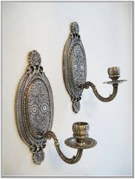 Silver Wall Sconce Candle Holder Large Wall Sconce Candle Holder Home Design Ideas