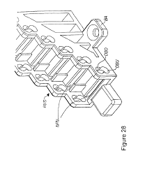 patent us6810193 cassette for receiving optical waveguides with