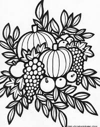coloring thanksgiving day coloring pictures