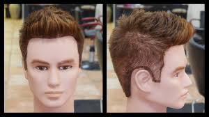 men u0027s haircut tutorial step by step thesalonguy stephen marinaro