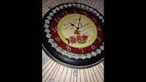 bling home decor home decor upcycle starburst bling clock diy youtube