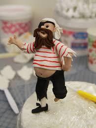 how to create a nautical themed pirate cake topper tutorials