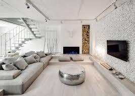 bureau desing form architectural bureau designs a stylish monochromatic apartment