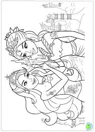 barbie mermaid coloring pages chuckbutt