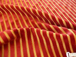 1 625y kravet design cut velvet stripe ruby red gold 65 00