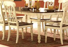 furniture good looking coaster camille white wood dining table