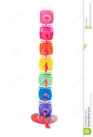 stack of dripping nail polish stock photos image 28474893