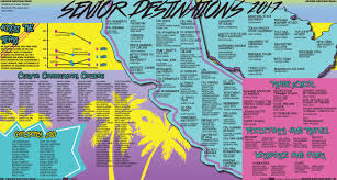 Csub Map Senior Destinations 2017 By Crimson Newsmagazine Issuu