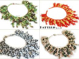 crochet necklace pattern images Coral reef necklace pdf crochet pattern irarott inc jpg