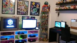 nintendo gaming room setup tour 2016 youtube