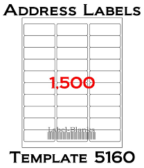 address label template envelope or label add in for word address