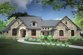 mountainside house plans plan 430002ly modern hill country house plan with side load
