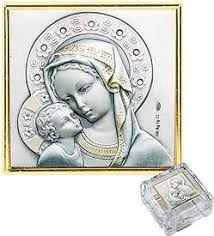 Crystal Keepsake Box Amazon Com St Mary U0026 Baby Jesus Madonna And Child Sterling