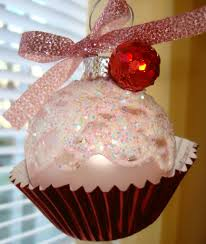 cupcake ornament cute christmas diy