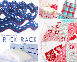 rick rack ribbon how to sew with rick rack the most terrific of trims sew4home
