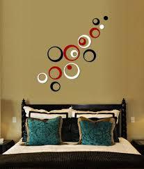 Wwe Wall Stickers Wow Interiors And Decors 3d Circles Bright Medium 15 Circles Wall
